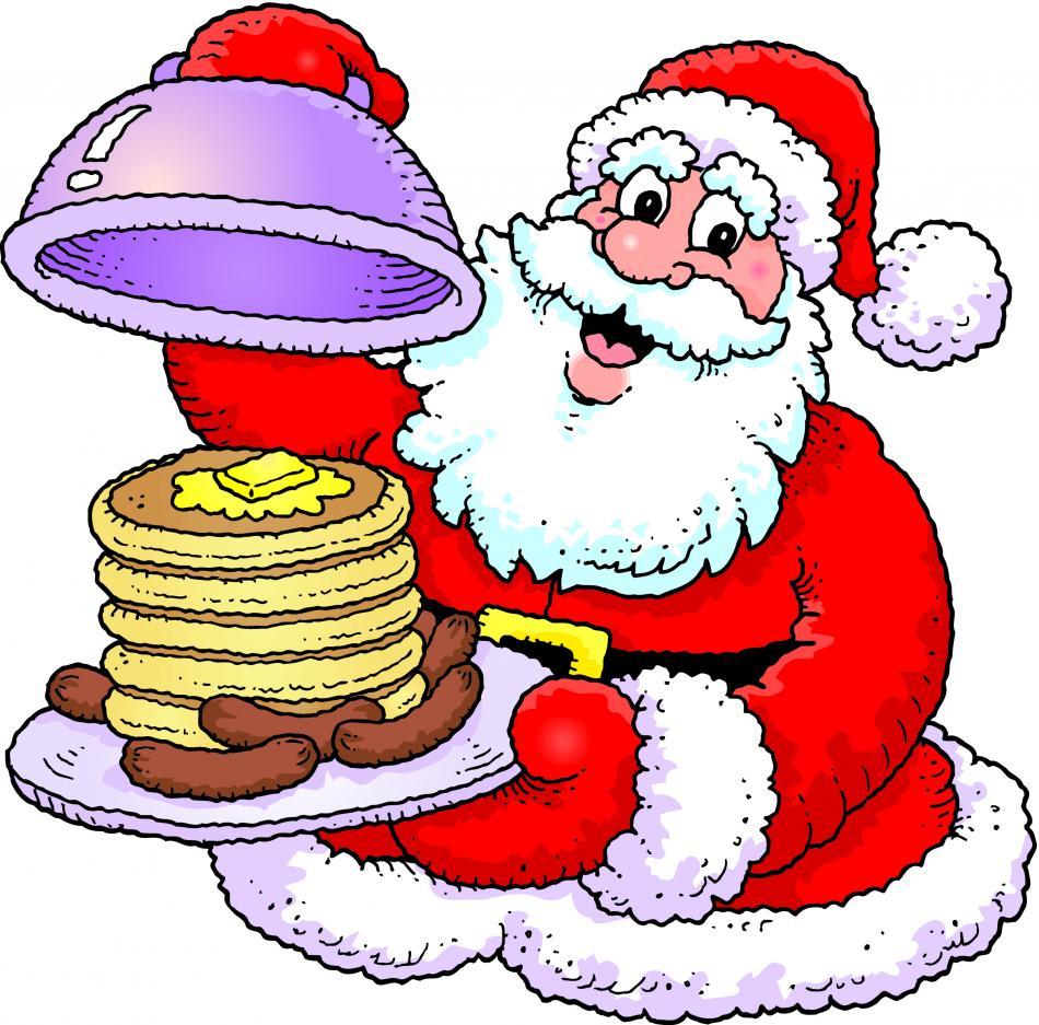 Christmas Breakfast Buffet Clip Art Graphics